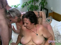 Sexy mom loves lesbian fun in bed
