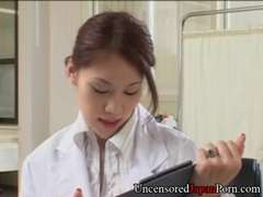 Japanese nurse nailing doctor - Uncensored Japanese Firm-Core