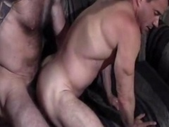 Muscle Tied Daddy Gets down and dirty Doggy Style