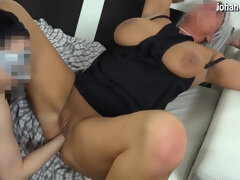 Old mature granny with Big Natural Boobs Fisted by Younger Cutie! - lesbian fisting