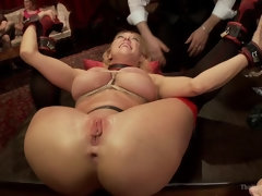 Anal House Slave Teaches Anikka Albrite to Service Cock