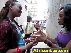 Wow!,2 african lesbians want to joy with her body! Licking cunny!