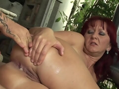 Hungarian MILF first hot porn video