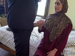 Arab couple I give her money to blow my pecker and to fuck
