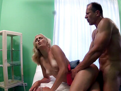 Nela Angel mercilessly pounded by doctor
