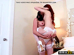 Brazzers - Its A uber-cute Day For A white Lez Wedding Dolly Litt
