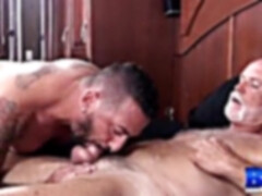 """BREEDMERAW Inked Hunk Adam Knocksville Riding Big Old Cock"""