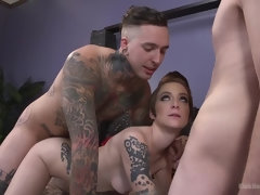 Bisexual MMF Threesome Sex