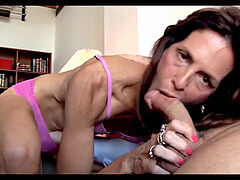 hideous intercourse with very bony mature pussy